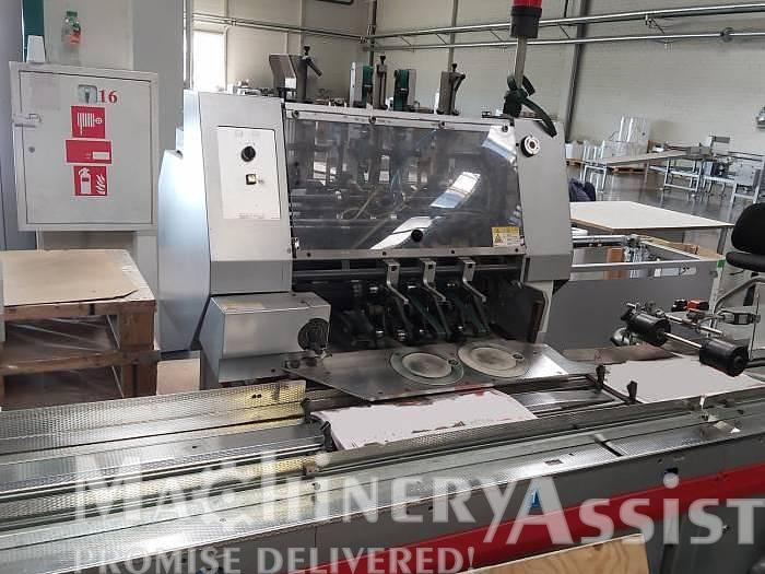 Used 2007 Sitma 950-E Inserting and foil wrapping