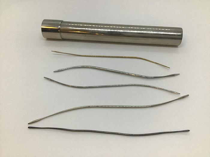 Used Ophthalmic Probe Lachrymal Bowman Set of 5