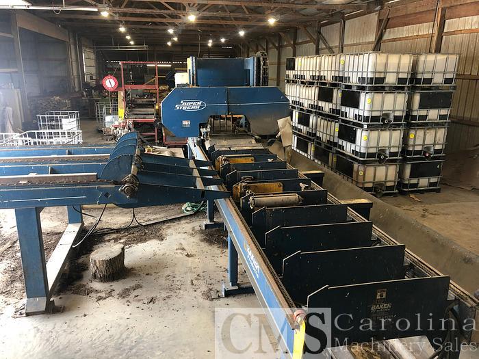 Used Complete Sawmill Baker, Meadows, Mellott