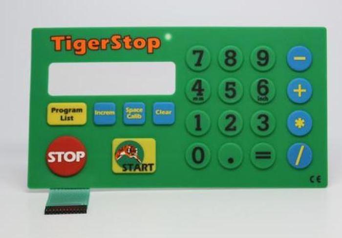 Tigerstop Keypad Membrane Ver. 4 Controller