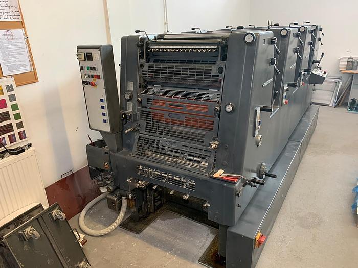Used 1994 Heidelberg GTOVP 52