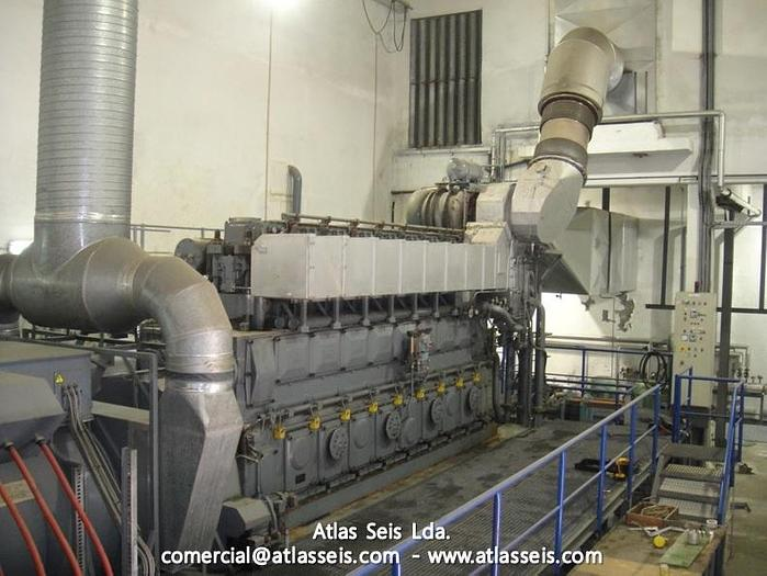 Used 3.4 MW Complete HFO Power Plant MAN 8L 32 40