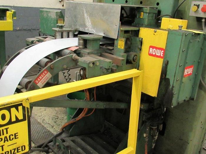 Used 20 IN WIDE x .040 X 10,000LB ROWE SERVO FEED LINE