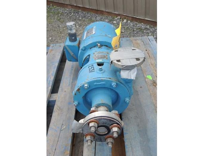 "Used USED CENTRIFUGAL PUMP, 1.25"" X 1"" INLET & OUTLET, STAINLESS STEEL"