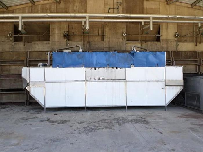 Used PEAL HYDROCOOLER WITH ICG REFRIGERATION UNIT