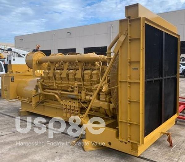 Used 1.5 MW 1993 Used Caterpillar 3516TA Diesel Generator Sets