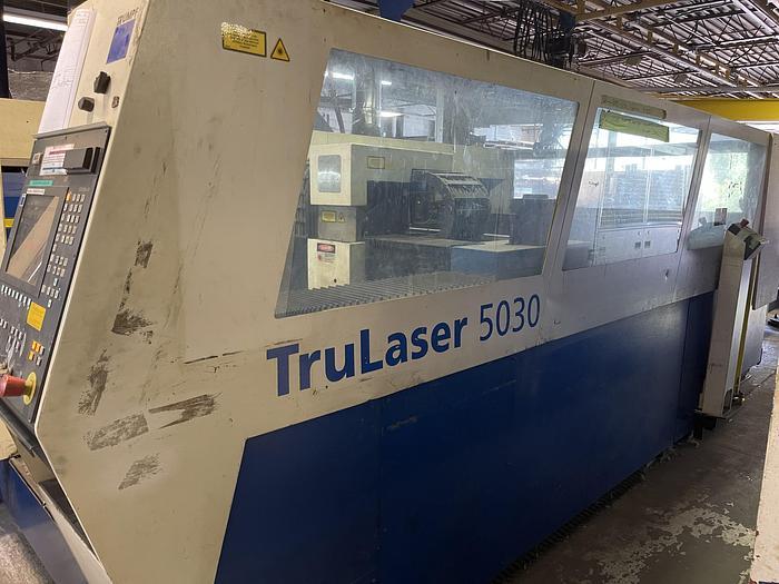 Used 6000 WATT, TRUMPF, L3050, 2005, CNC LASER