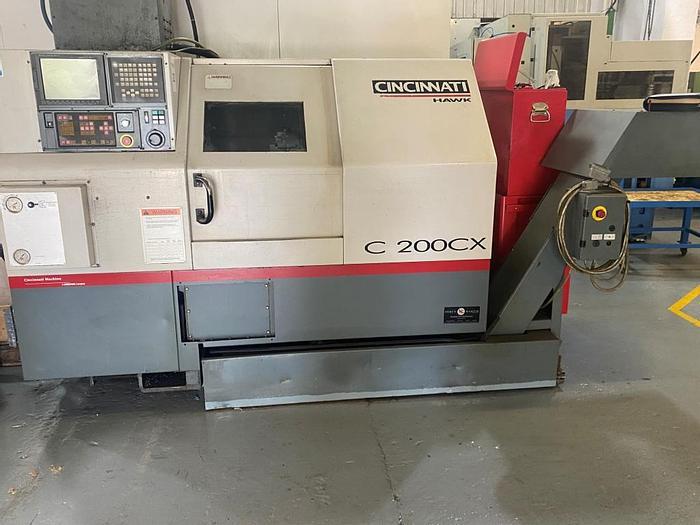 Used 2001 Cincinnati Hawk  C 200 CX Turning Center
