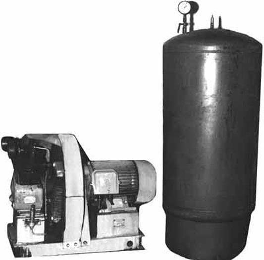 Sprężarka powietrza ze zbiornikiem