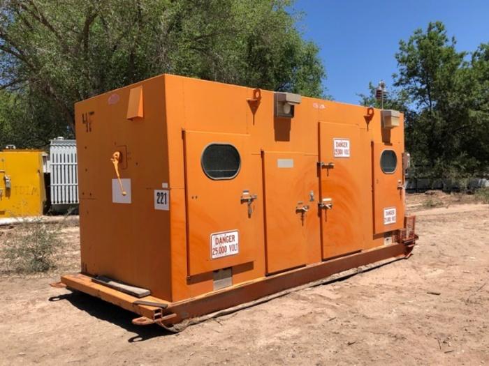 HB18252 switch box 25,000 volt mine gear by Atkinson
