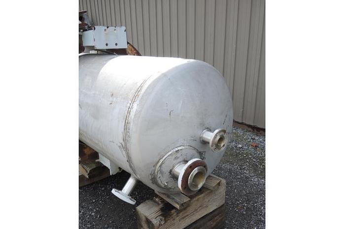 USED 200 GALLON TANK, 316 STAINLESS STEEL