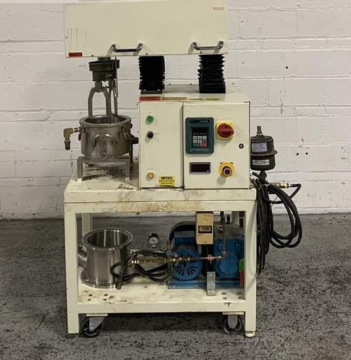 Used 1 GALLON ROSS DOUBLE PLANETARY MIXER - S/S - VACUUM - JACKETED