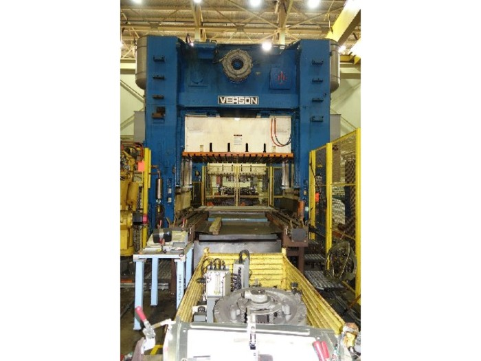 "300 ton Verson 108""x84"""" Used Stamping Press"
