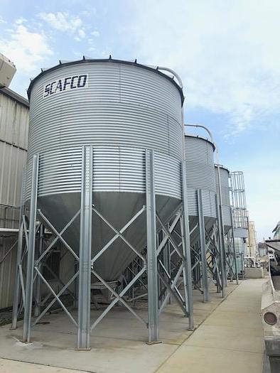 Used SCAFCO Grain Silo's