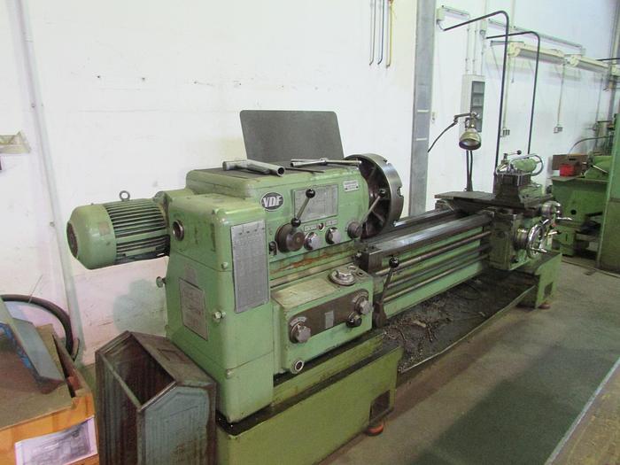 Gebraucht 1968 VDF Heidenreich + Harbeck V3,  255x1500 mm,  L+Z Drehmaschine