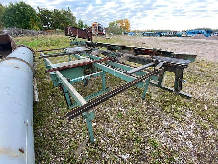 Used Chain cross conveyor