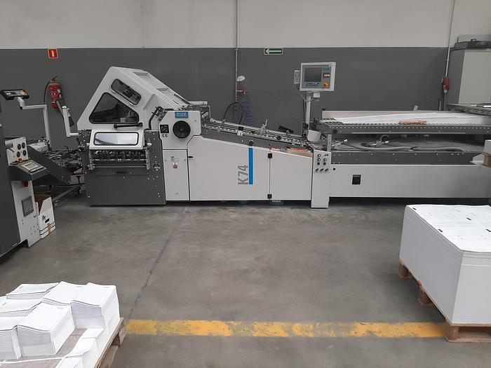 Used GUK K74 / 4 KTL R6 2017 UP TO 32 pages