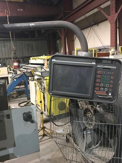 Used Accurpress 250 Ton x 12′ Hydraulic Press Brake