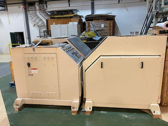 Used CLC 6000 CYLINDRICAL LABORATORY COATER (TWO AVAILABLE)