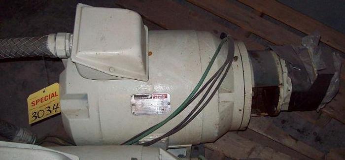 Used 20 HP Vickers Vane Pump/Motor Combination