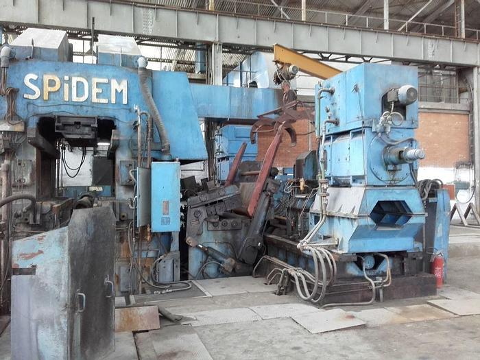Used 1600mm Aluminum 4-Hi Breakdown Cold Rolling Mill: RM-437