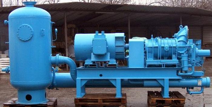 Chłodnicze agregaty sprężarkowe śrubowe firmy STAL