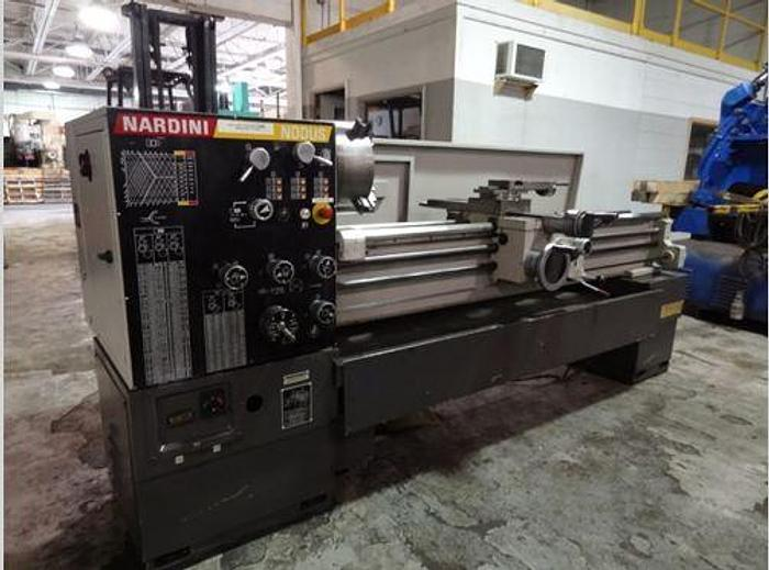 "1998 NARDINI  ND 1760 17"" X 60"" ENGINE LATHE"