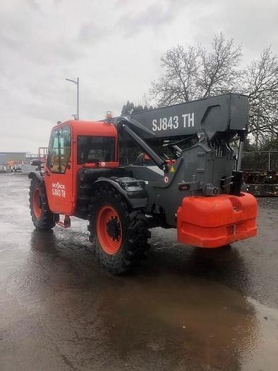 Used 2017 SKYJACK SJ843 TH 4WD Diesel Telehandler EROPS