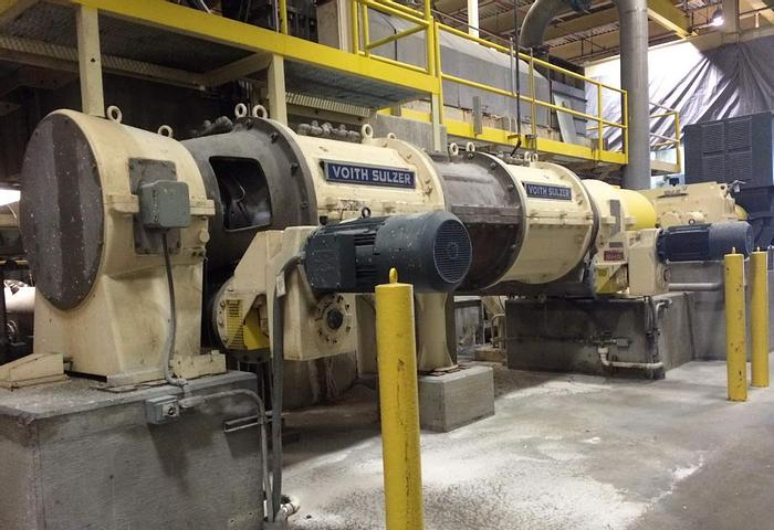 Used KNEADER VOITH D500, 2000 HP, 500 TPD