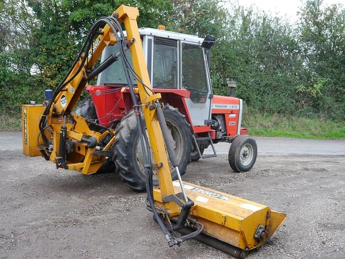Used McConnel PA34 Hedge Cutter
