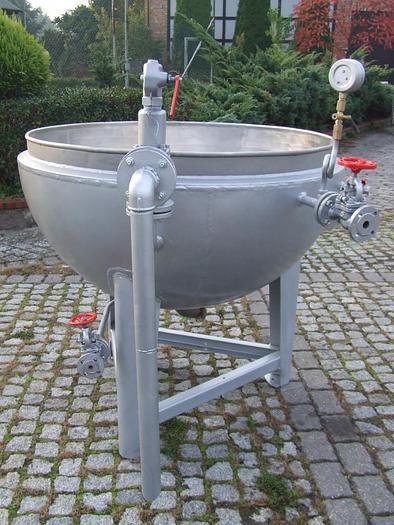 Używane Kocioł do gotowania z płaszczem parowym pojemność 500l