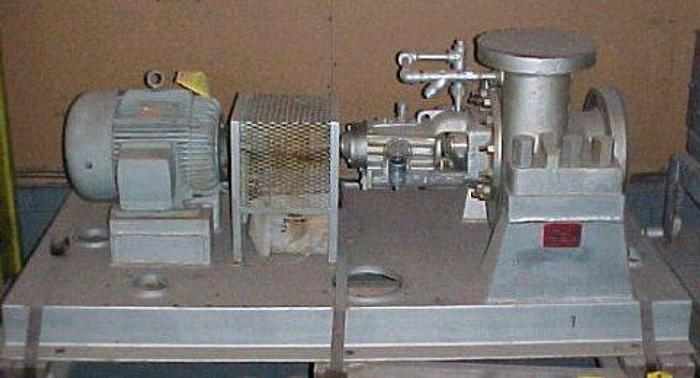 """USED CENTRIFUGAL PUMP, 9"""" X 6"""" INLET & OUTLET, CARBON STEEL"""