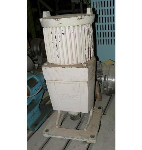 Used USED LIGHTNIN TOP ENTRY MIXER, MODEL NLDG 150, 1.5 HP