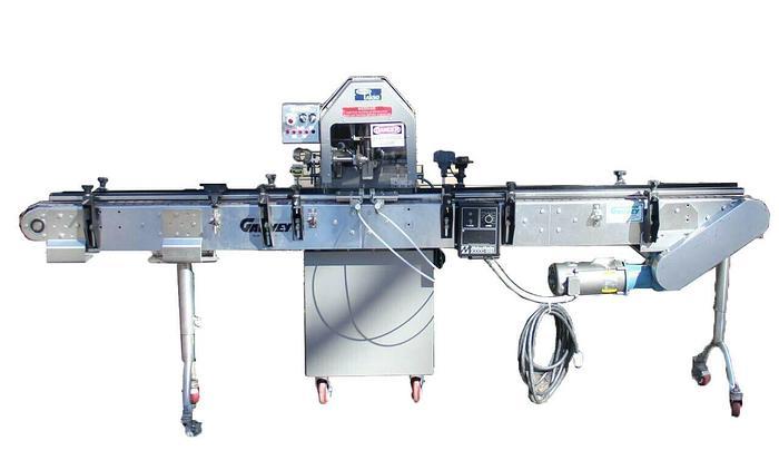 Used Lasko Cotton Filler Model 52 Single Head Cottoner In-Line Garvey 9600 Conveyer