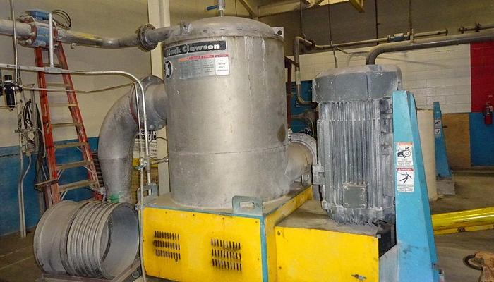 Used BLACK CLAWSON UV 400 PRESSURE SCREEN
