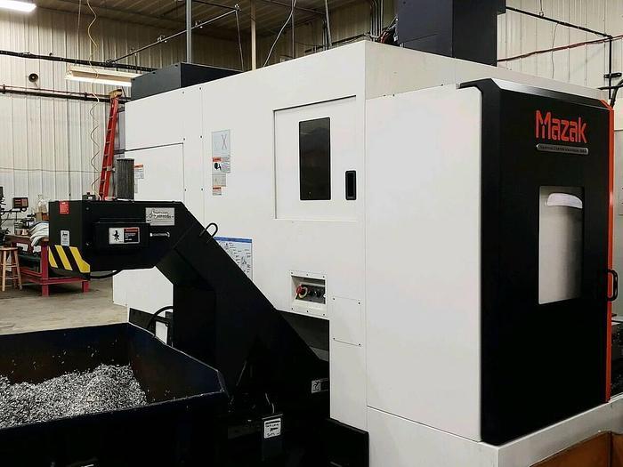 2015 Mazak VCU 500 2PC VCU-500A/2PC CNC 5 Axis Vertical Machining Cent