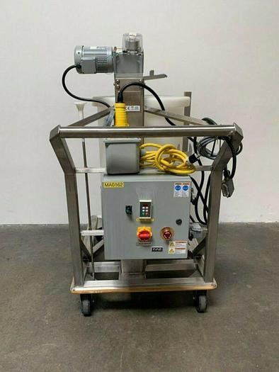 Used Thermo Scientific Hyclone 200L Mixer Model SV50182.01 on Rolling Cart