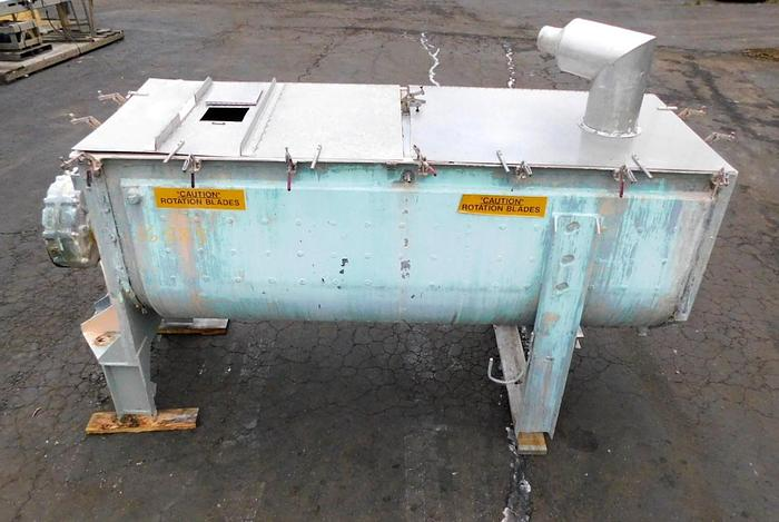 Used 80 CU. FT. RIBBON BLENDER – S/S WITH C/S JACKET (#9766)