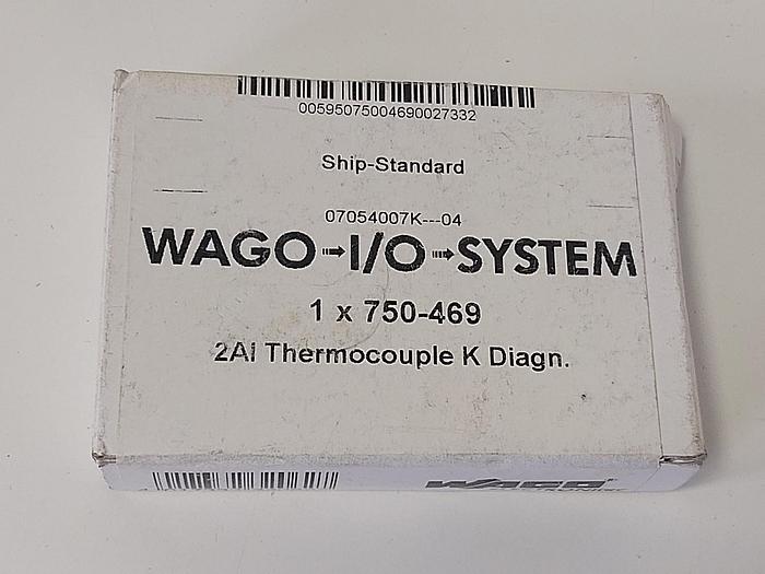 Thermoelement K 2AI, 750-469 Wago neu