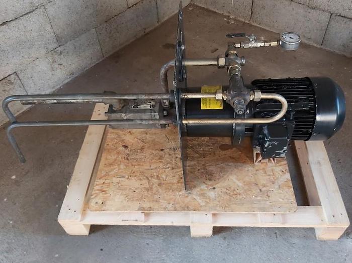 Gebraucht Hochdruck Schraubenspindelpumpe, KTS 25-50-T, 50 bar, 34L/Min, 4 KW, Knoll,  gebraucht
