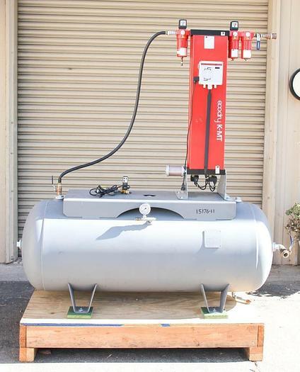 Used Zander Adsorption Dryer K-MT6 EcoDry w/ Manchester Tank 120 gallon 302480 (4599)