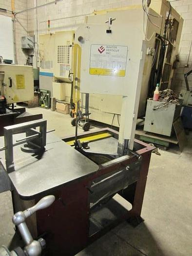 Used Baxter Verticut 115B Vertical Roll-in bandsaw