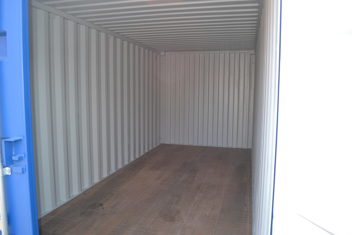 20 'Container Dry Box Wooden Floor 8'6 ""