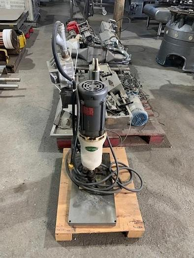 Used Swan-Matic Capmaster Bench Top Bottle Capper