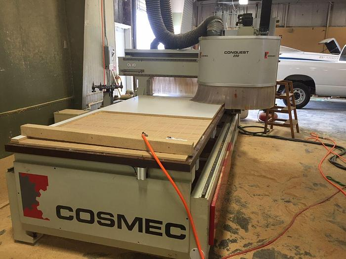 Holzher Cosmec CNC Router Conquest 250