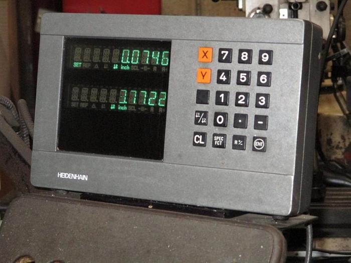 "9"" X 42"", FIRST, LC 1 1/2 VS, VERTICAL MILLING MACHINE"