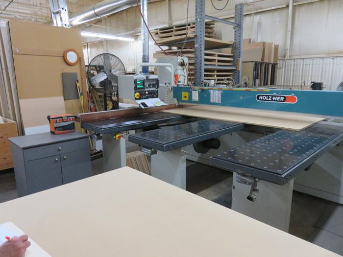 HolzHer Horizontal Panel Saw Model CA80-4300 - Price Reduced For Quick Sale