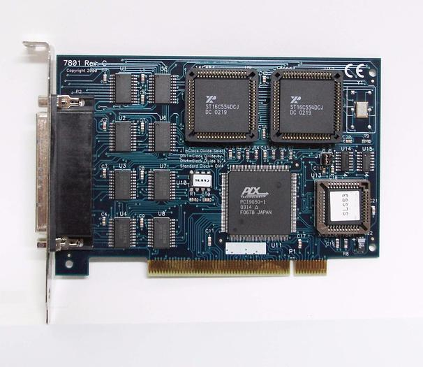 Used Sealevel Systems Inc 7801 Rev. C COMM+8.PCI Board XC9536-7801 IO Adapter (4292)