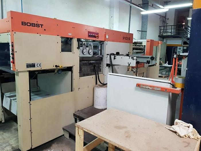 1996 BOBST SP 102 SE Hot foil