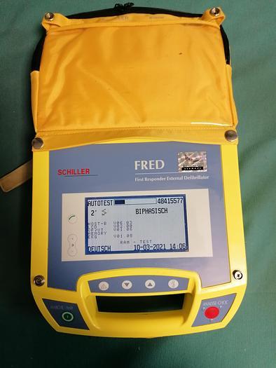 Used Schiller Fred Defibrillator